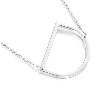Jewelry - Letter Initial Necklace A-Z